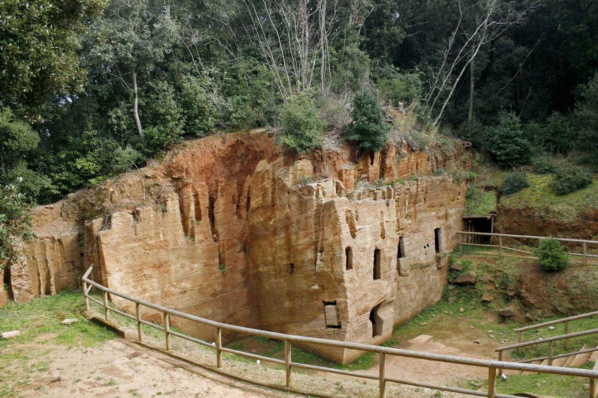 Parco Archeologico di Baratti - Golfo di Baratti - Costa degli Etruschi